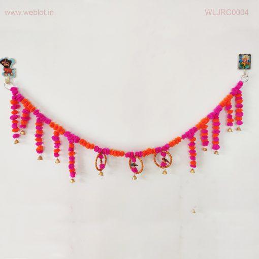 WEBLOT-Pink-orange-colorful-flower-bandervar
