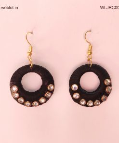 WEBLOT-black-ring-earing-2