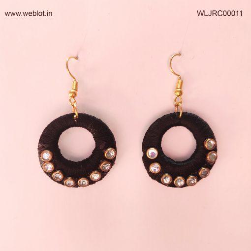 WEBLOT-black-ring-earing-2