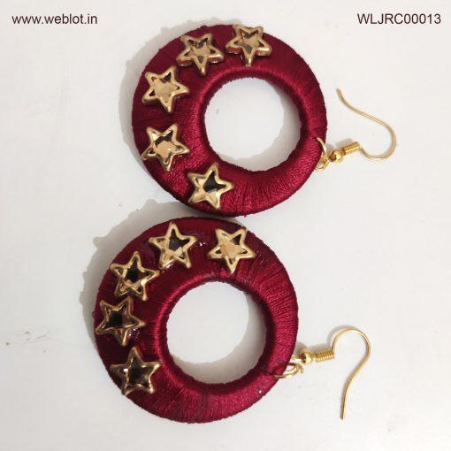 WEBLOT-brown-ring-earing