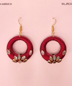 WEBLOT-dark-red-earing