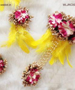 WEBLOT-pink-white-yellow-feather-jwellery-set-j500pic2.jpg